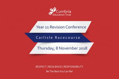 Cumbria Education Trust hold first ever cross-trust GCSE revision conference aimed at helping students to maximise their potential